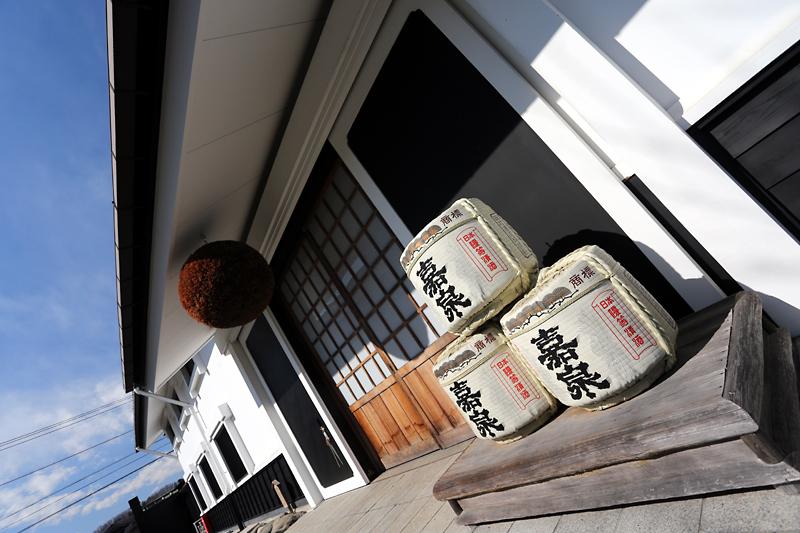 酒林と酒樽