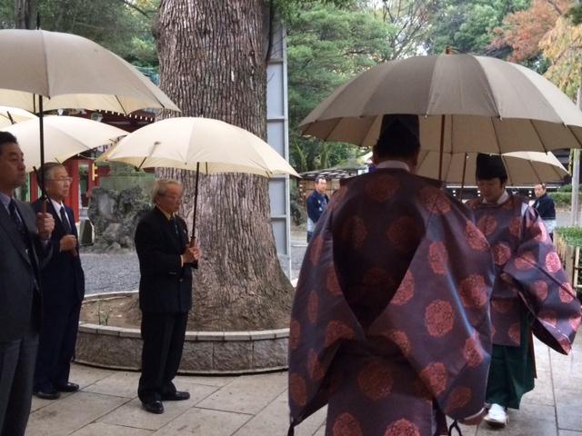 酒造安全祈願祭~11/20大国魂神社内松尾神社にて