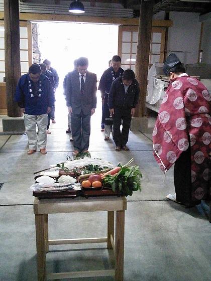 お釜〆~竈(かまど)の御祓いをする伝統儀式