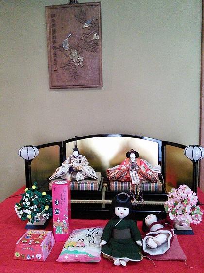 田村家のお雛様
