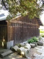 水車小屋~精米に使われた石臼