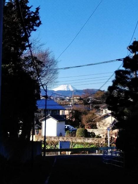 宿橋からの富士山