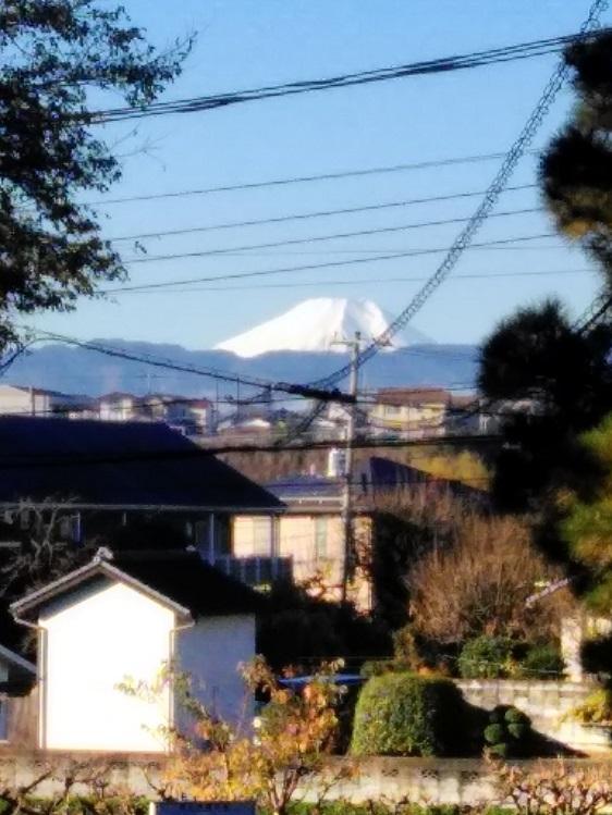 霊峰富士~宿橋より